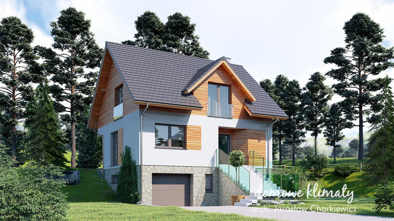 Budowa na spadzistej działce – czyli projekt domu na zboczu lub skarpie o czym pamiętać?