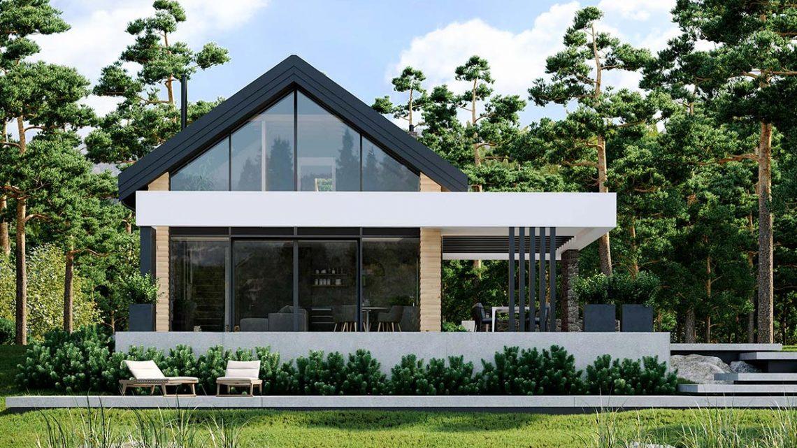 Jakie okna wybrać, by otworzyć dom na naturę w myśl biophilic design?