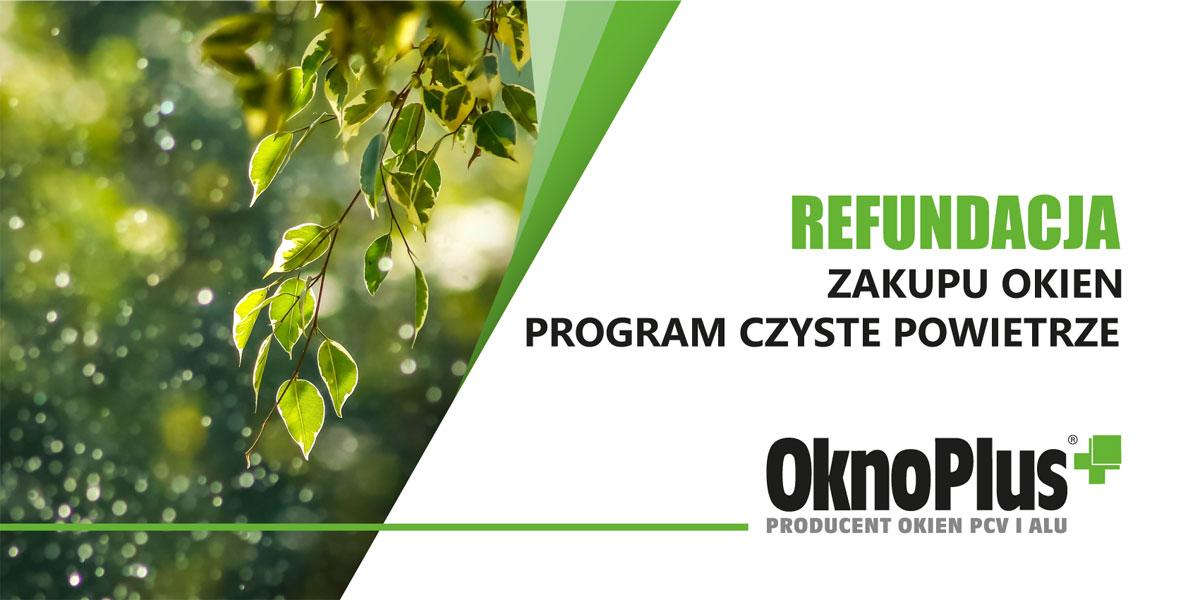 Program Czyste Potwietrze 2021 OknoPlus